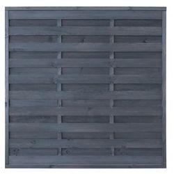 Płot szczelny 180x180 cm drewniany LAWA STELMET