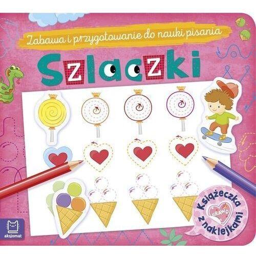 Książki dla dzieci, Szlaczki. Książeczka z naklejkami (opr. broszurowa)
