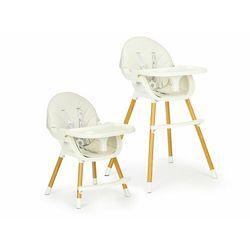Fotelik, krzesełko do karmienia dla dzieci, ecotoys, 2w1, beżowy