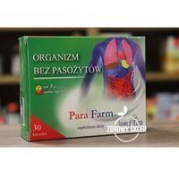 Detox i oczyszanie organizmu, Para Farm 30 kapsułek - odrobaczanie