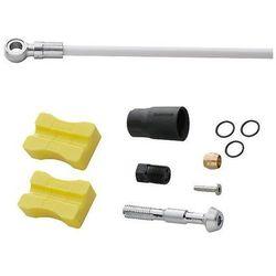 Przewód hamulcowy hydrauliczny Shimano XTR (M988/M985), XT, SLX, Alfine SM-BH90-SB 1700 mm tył biały