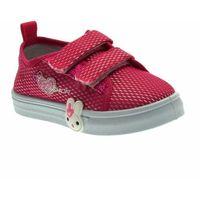 Buty sportowe dla dzieci, Trampki dla dziewczynki Axim 20321 Róż