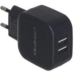 Ładowarka sieciowa Qoltec 50186 (3400 mA; 17W; USB)