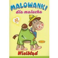 Książki dla dzieci, Wielbłąd. Malowanki z wierszykami Praca zbiorowa (opr. broszurowa)