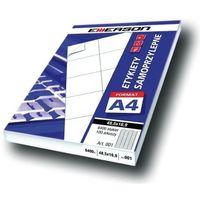 Etykiety biurowe, Etykiety 105 X 42,4 mm, 14 szt/A4 EMERSON uniwersalne (G) - X06638