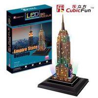 Puzzle, PUZZLE 3D EMPIRE STATE BUILDING (ŚWIATŁO