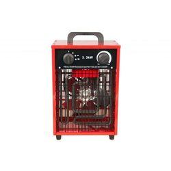 Nagrzewnica elektryczna Inelco Neutral 3,3kW - produkt bez logo - wersja w czerwonej obudowie PROMOCJA