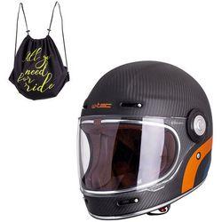 Kask motocyklowy W-TEC V135 Matt Carbon, L (59-60)