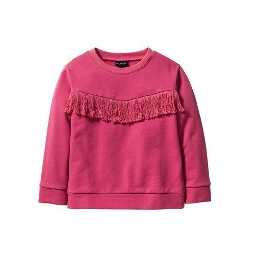 Bluzy dla dzieci, Lekki kombinezon dziewczęcy bonprix czarny
