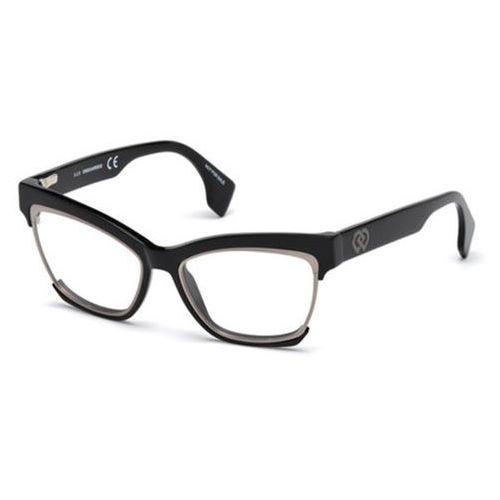 Okulary korekcyjne, Okulary Korekcyjne Dsquared2 DQ5222 001