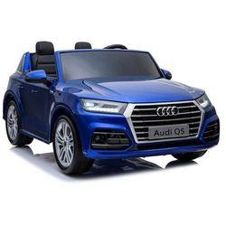 Duże dwuosobowe auto audi q5 xxl mp4 niebieski lakier metalik mp4