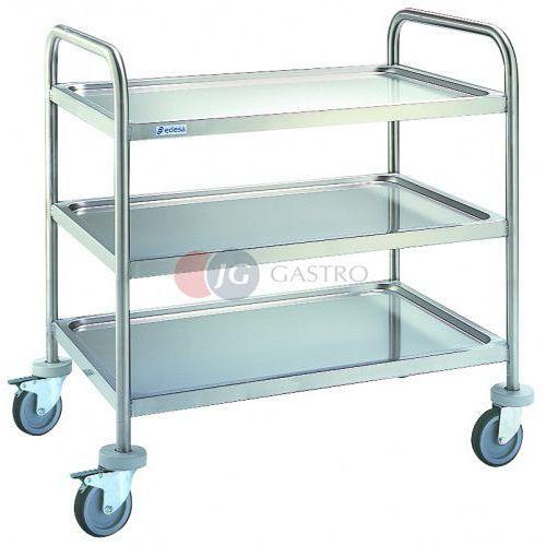 Wózki na żywność, Wózek kelnerski 3-półkowy CE-953