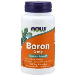 NOW Foods Bor 3 mg 100 kaps