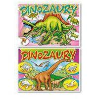 Kolorowanki, (047) Dinozaury Kolorowanka MIX
