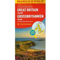 Mapy i atlasy turystyczne, Marco Polo Mapa Samochodowa Wielka Brytania, Irlandia 1:800 000 Zoom (opr. kartonowa)