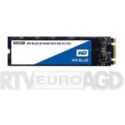WD Blue M.2 500GB - produkt w magazynie - szybka wysyłka!