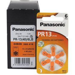 600 x baterie do aparatów słuchowych Panasonic 13 / PR13 / PR48