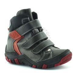 Buty zimowe dla dzieci Kornecki 06037 - Czerwony ||Czarny Obuwie zimowe -30% (-30%)