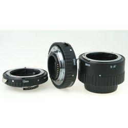 Phottix Zestaw 3 pierścieni makro AF Nikon