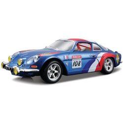 Renault alpine a110 1500s blue 1:24 bburago
