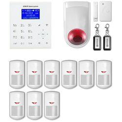 Alarm gsm WiFi E8 R9 + syrena bezprzewodowa 120 dB - E8 R9 + syrena bezprzewodowa 120 dB E8R9 bezprzewodowa (-15%)