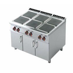 Kuchnia elektryczna z szafką | 320x320mm | 6x4000W | 1200x900x(H)900mm