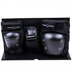 ochraniacze PRO-TEC - Street Gear Junior 3 Pack Black (BLACK) rozmiar: YM