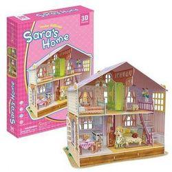 PUZZLE 3D Domek dla lalek Sara