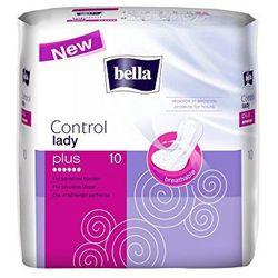 8x Wkładki urologiczne Bella Lady Control Plus + Chusteczki Bella