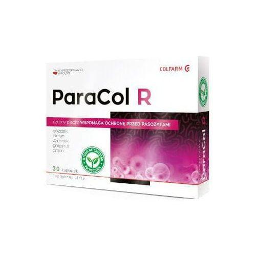 Preparaty ziołowe, ParaCol R pasożyty czarny pieprz 30 kapsułek Colfarm
