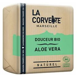 MYDŁO MARSYLSKIE ALOES ECO 100 g - LA CORVETTE