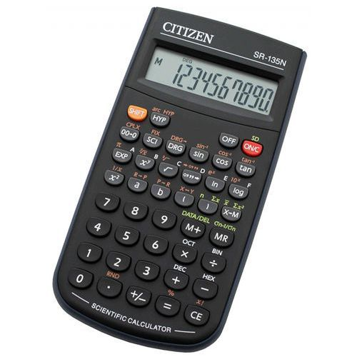 Kalkulatory, Kalkulator CITIZEN SR-135N