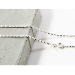Srebrny (925) łańcuszek OKRĄGŁY 50 cm +OPAKOWANIE