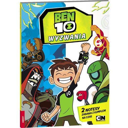 Książki dla dzieci, Ben10 Wyzwania (opr. miękka)