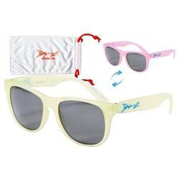 Okulary przeciwsłoneczne dzieci 4-10lat kameleon BANZ - Yellow to Pink