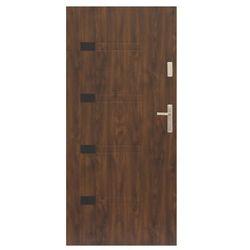 Drzwi zewnętrzne Prado 90 lewe orzech