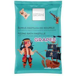 Gabriella Salvete Fizzing Bath Pastille pianka do kąpieli 40 g dla kobiet Grapes