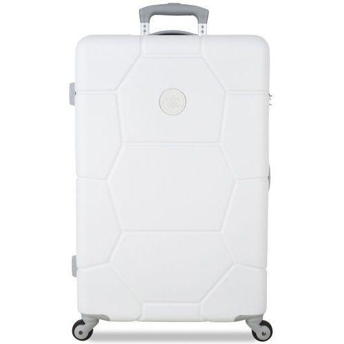 Torby i walizki, SuitSuit Walizka TR-1225/3-M, biała