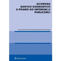 Ochrona danych osobowych a prawo do informacji publicznej (opr. broszurowa)
