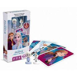 Gra karciana Elsa i Olaf Kraina Lodu 2