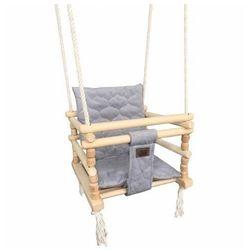 Drewniana huśtawka 3w1 dla dziecka - Dingo