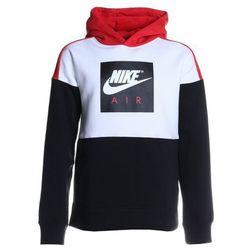 Nike Performance AIR HOODIE Bluza z kapturem white/black/university red/white
