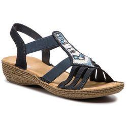 Sandały RIEKER - 65807-14 Blau