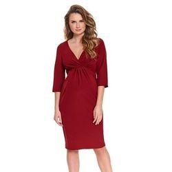 ubrania ciążowe Elegancka sukienka ciążowa Aroma Piękny Brzuszek