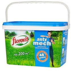 Antymech nawóz do trawnika Florovit : Pojemność - 4 kg