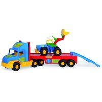 Pozostałe samochody i pojazdy dla dzieci, Wader Lora Transportowa Super Truck 36520