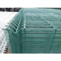 Przęsła i elementy ogrodzenia, Panel ogrodzeniowy zielony Fi5 1530x2500 mm