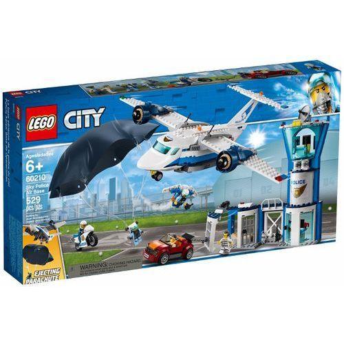 Klocki dla dzieci, Lego CITY Baza policji powietrznej 60210