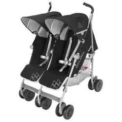 MACLAREN Wózek podwójny Twin Techno Black