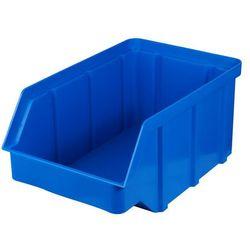 Plastikowy pojemnik warsztatowy - wym. 315 x 200 x 150 - kolor niebieski